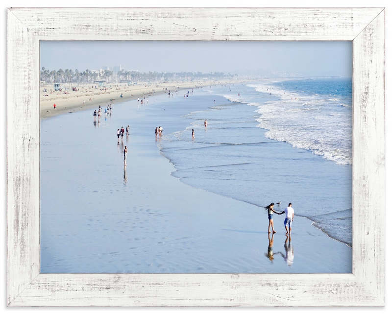 """Santa Monica Beach 2"" by Jan Kessel in beautiful frame options and a variety of sizes."