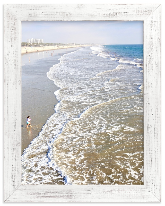 """""""Santa Monica Beach 3"""" by Jan Kessel in beautiful frame options and a variety of sizes."""
