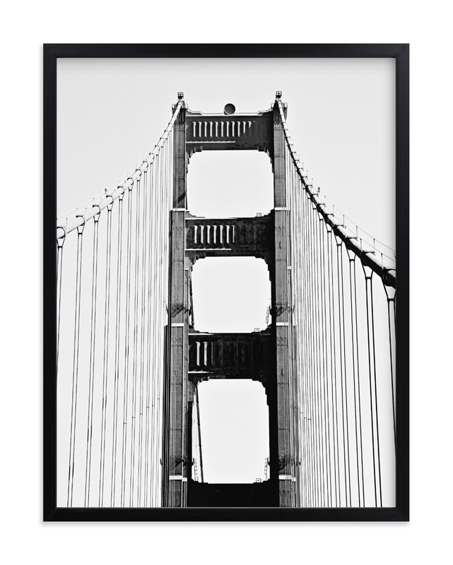 """""""Golden Gate SF"""" by Joelle Segal in beautiful frame options and a variety of sizes."""
