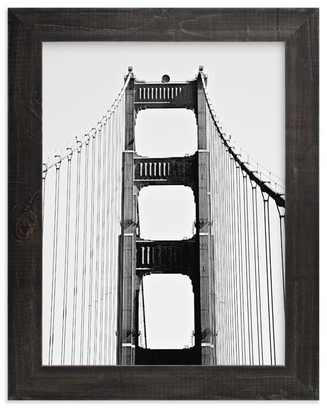 """Golden Gate SF"" by Joelle Segal in beautiful frame options and a variety of sizes."