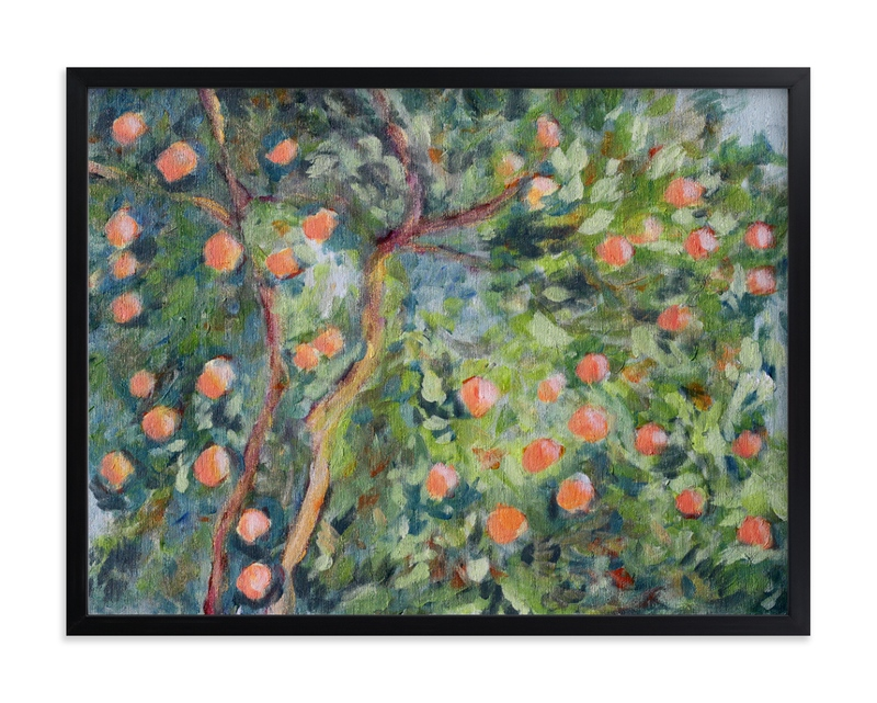 """""""Greenonthepark"""" by Susanna Nousiainen in beautiful frame options and a variety of sizes."""