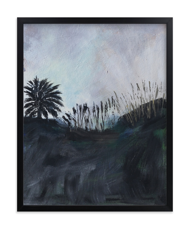 """""""Silhouettelandscape"""" by Susanna Nousiainen in beautiful frame options and a variety of sizes."""