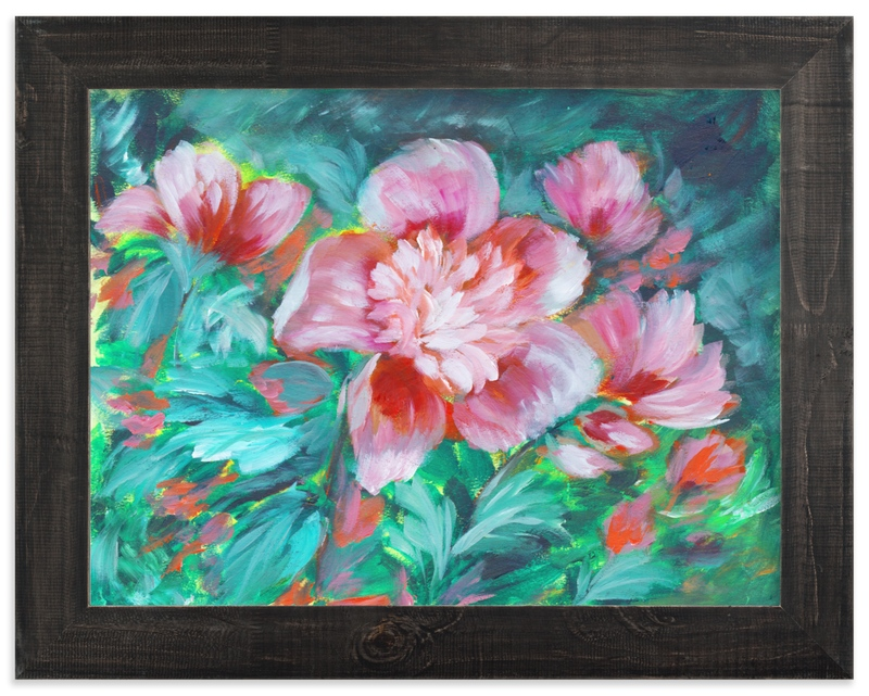 """Foundinagarden"" by Susanna Nousiainen in beautiful frame options and a variety of sizes."