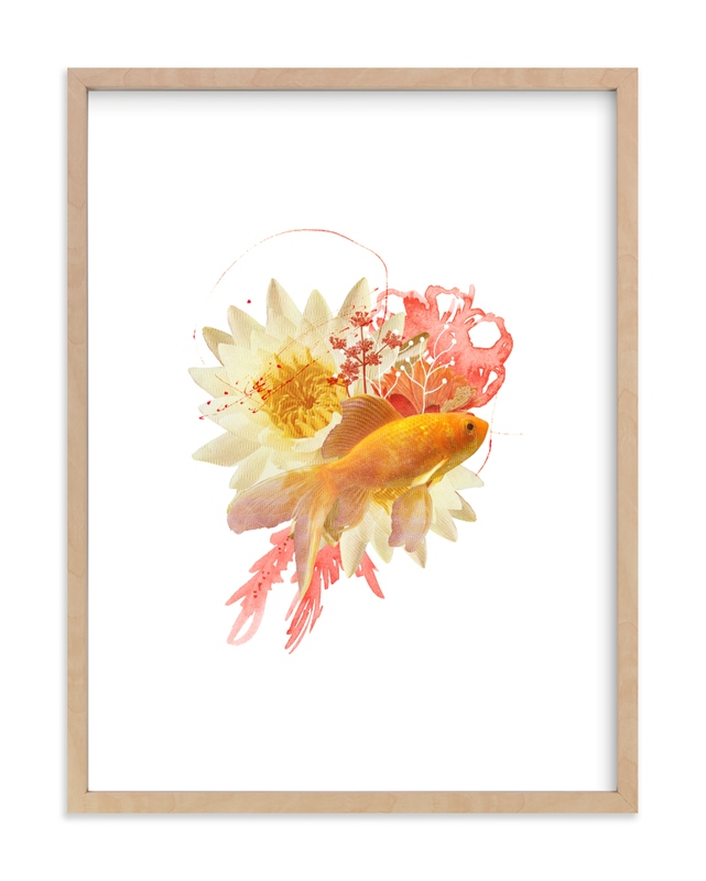 """Flying Fish"" by Field and Sky in beautiful frame options and a variety of sizes."