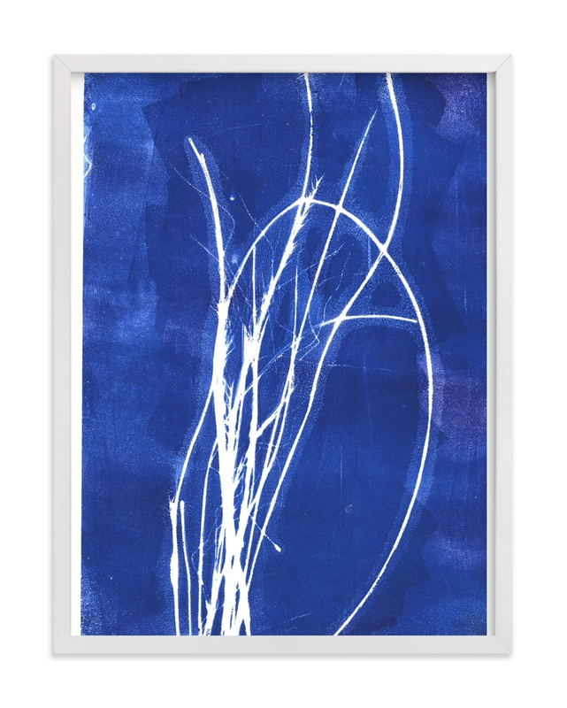 """""""Bend"""" by Erin McCluskey Wheeler in beautiful frame options and a variety of sizes."""