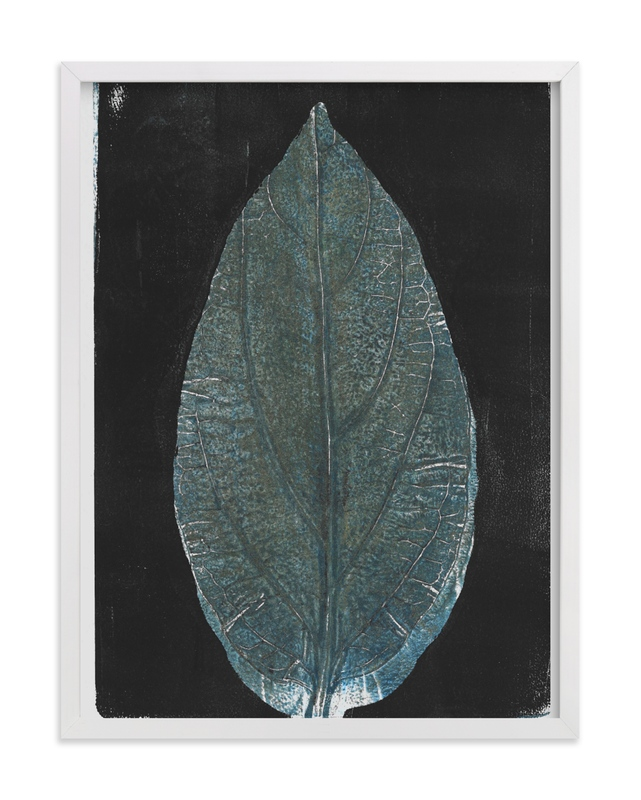 """""""New Leaf"""" by Erin McCluskey Wheeler in beautiful frame options and a variety of sizes."""