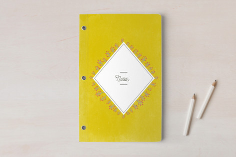 Textured Vintage Braches  Notebooks