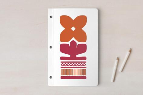 Nordic Orange Notebook Notebooks