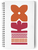 Nordic Orange Notebook by Kristiina Almy