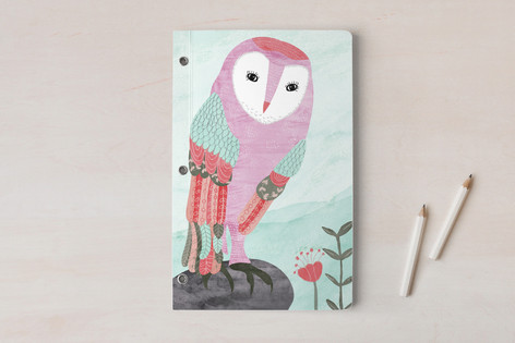 Whimsical Owl Notebooks