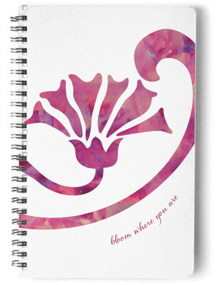 Bloom Where You Are Notebook Self-Launch Notebook