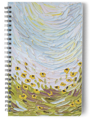 Sunflowers Self-Launch Notebook