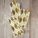 Graphic Leaves Napkins