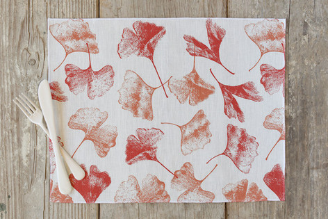 Gingko Floral Self Launch Placemats