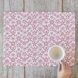 White Winter Placemats