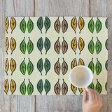 Graphic Leaves Placemats
