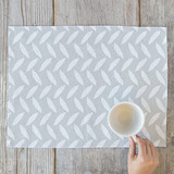 White As A Feather Placemats