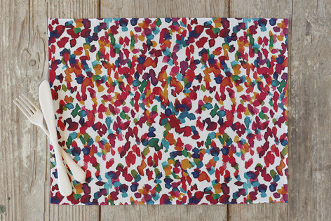 Colorful marks II Self Launch Placemats