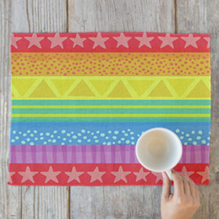 Rainbow Brights Self-Launch Placemats