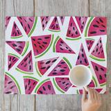 Watercolor Watermelons by Luz Alliati