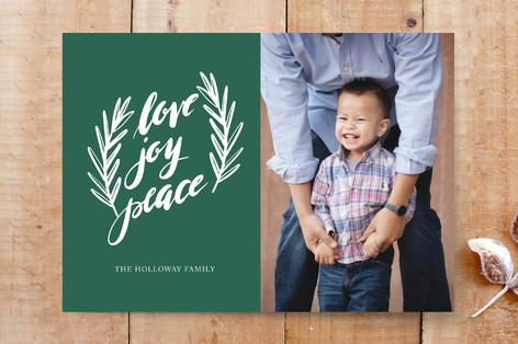 love, joy, peace Custom Stationery