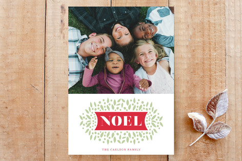 noel & leaves Custom Stationery
