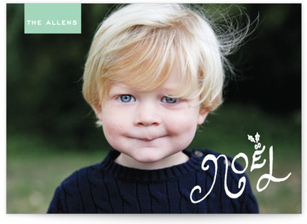 Holly and Noel Custom Selflaunch Stationery