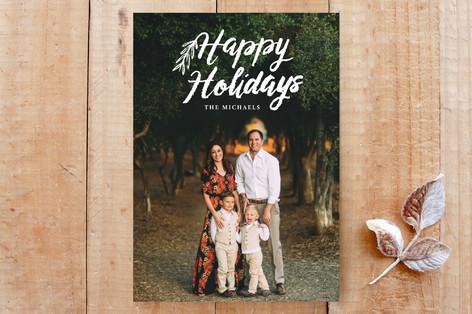 script happy holidays Custom Stationery
