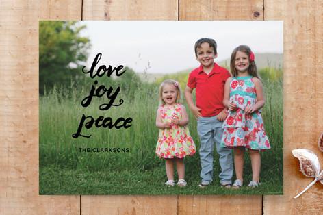 script love joy peace Custom Stationery