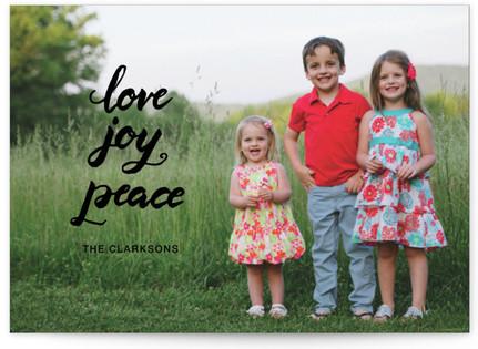 script love joy peace Custom Selflaunch Stationery