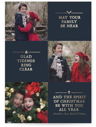 Christmas Toast Custom Selflaunch Stationery