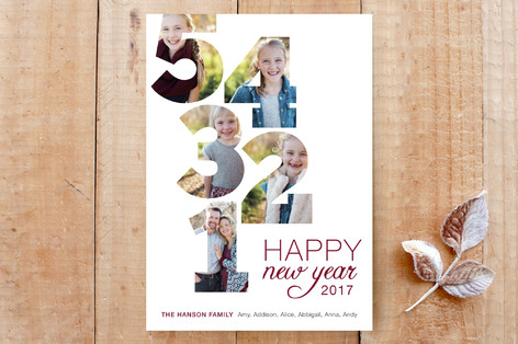 5 4 3 2 1 Countdown Custom Stationery