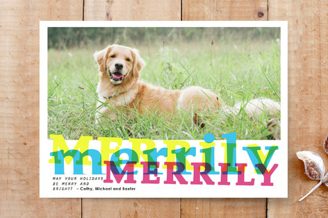 Merrily and Bright Custom Stationery