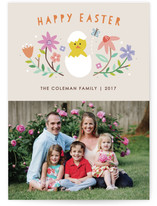 Hatched Easter Photo Card