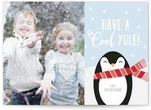 Cool Yule Penguin by Sara Heilwagen