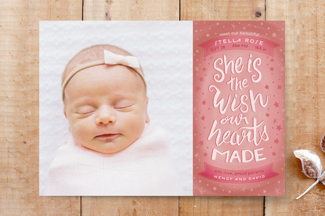 She is the wish Custom Stationery