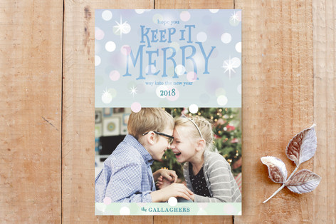 Keep it Merry Custom Stationery