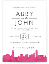 Skyline Boston Wedding... by Laura Condouris
