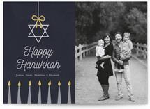 Happy Hanukkah Star by Elky Ink