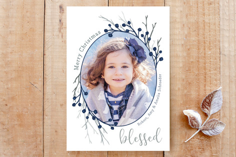 Berry Blessed Custom Stationery