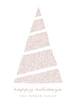 Elegant Xmas Tree Custom Selflaunch Stationery