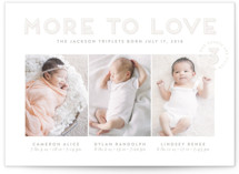 More To Love Triplets by Shari Margolin