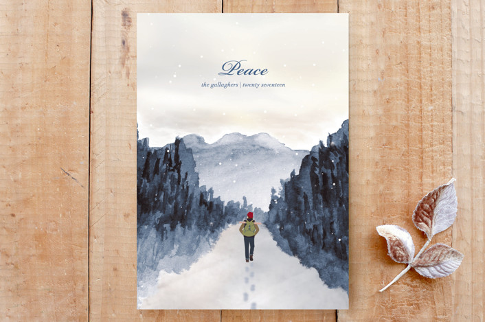 """""""Quiet Peace"""" - Custom Stationery in Cool by Shannon."""
