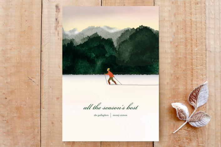 """Best Season"" - Custom Stationery in Emerald by Shannon."