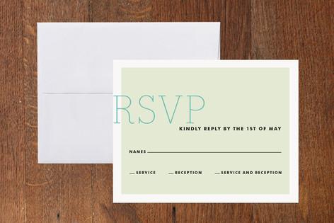 Fete Mitzvah RSVP Cards