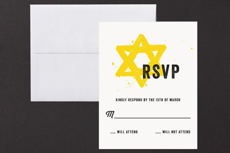 Boldness Mitzvah RSVP Cards