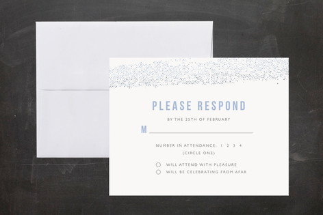Parchment Mitzvah RSVP Cards