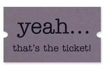 That's The Ticket