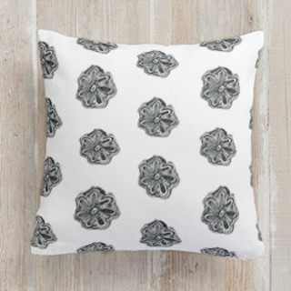 Watercolor Batik Self-Launch Square Pillows