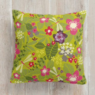 Tropical Fusion Self-Launch Square Pillows